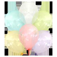 """Kalisan™  12"""" Mix Crystal (25 pcs./pack.)"""