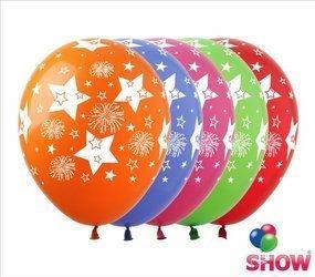 """SHOW™ 12"""" """"Stars & Fireworks """" (10 pcs.)"""