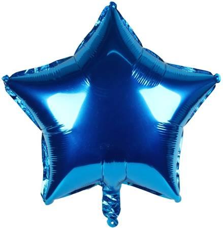 "Foil Star, Blue 18"" (45cm.)"