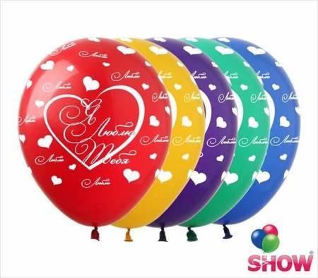 """SHOW™ 12"""" """"Я Люблю Тебя"""" (10 pcs.)"""