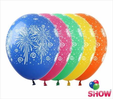 "SHOW™ 12"" ""Fireworks "" (10 pcs.)"