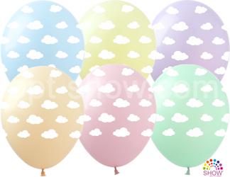 """Balony """"Chmurki"""" (10 szt.)"""