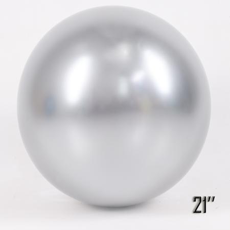 """Balon  21"""" CHROME,  Srebrny (1 szt.)"""