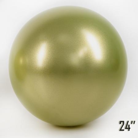 """Balon  24"""" CHROME,  Złoty Oliwkowy (1 szt.)"""