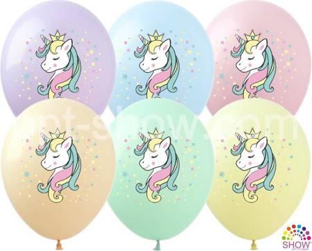 """Balony  """"Jednorożec"""" (10 szt.)"""