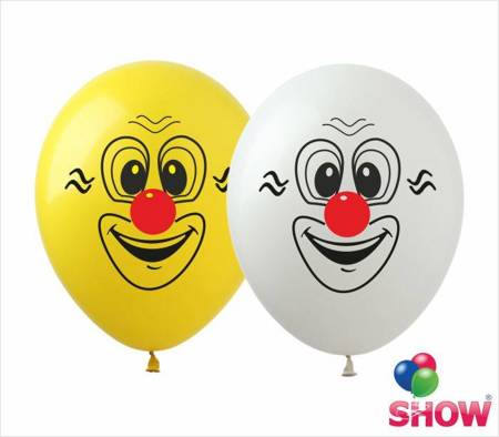 """Balony  """"Klaun"""" (10 szt.)"""