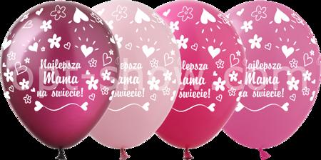 """Balony """"Najlepsza Mama"""" (10 szt.)"""