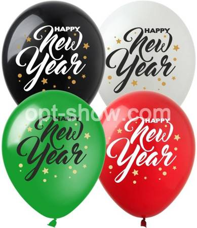 "SHOW™ 12""  ""NEW YEAR"" (10 szt.)"